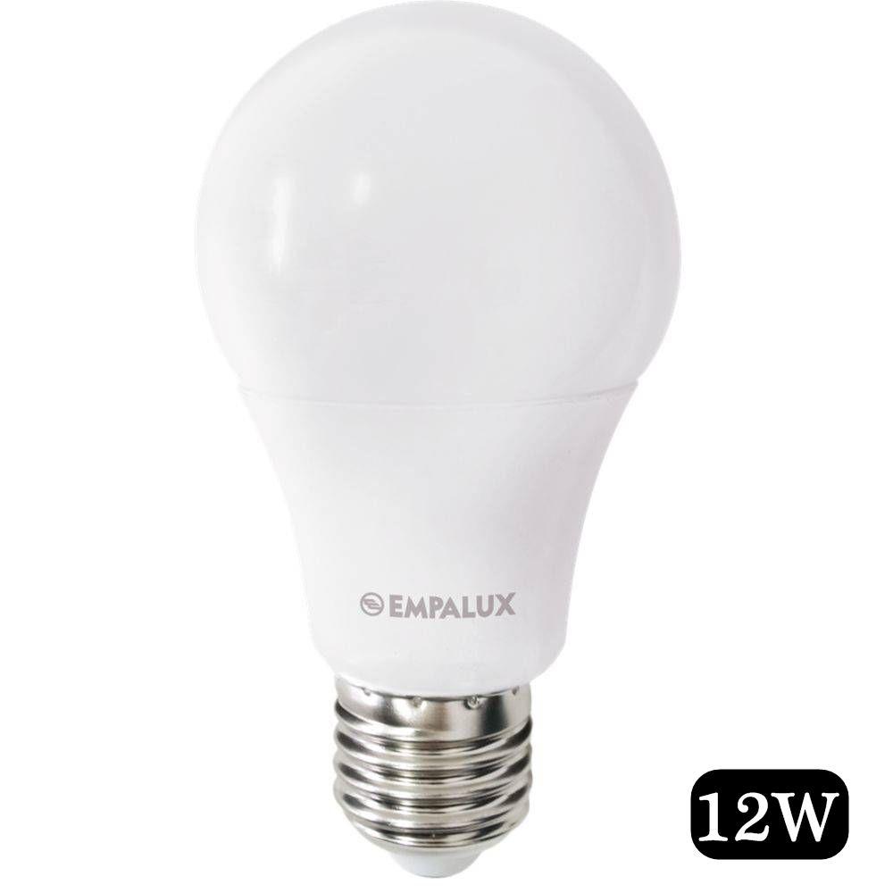 Lampada Led Bulbo 12W Bivolt 6.500K Pc - Empalux