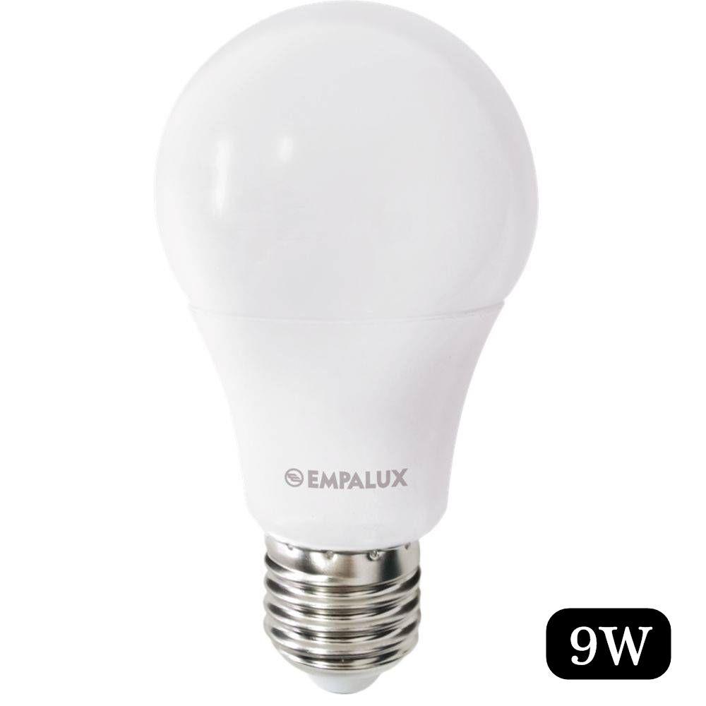 Lampada Led Bulbo 9W Bivolt 6.500K Pc - Empalux