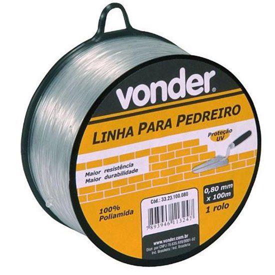 Linha P/ Pedreiro 0,80mm x 100mm - Vonder