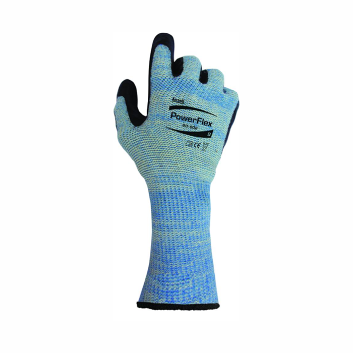Luva Ansell 80-602 PowerFlex® Cut Impact anti-corte canavieira