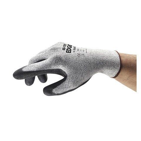 Luva De Proteção Nitrílica Mecânica   Corte Ansell EDGE 48-701