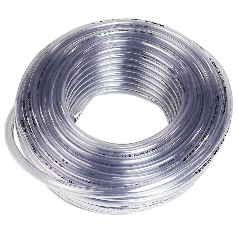 Mangueira Cristal PVC 3/8 Pol. x 1,5mm 50M Plastic Mangueiras