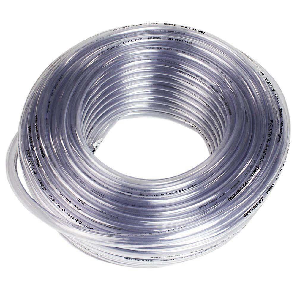 Mangueira Cristal PVC 5/16 Pol. x 1,5mm 30M Plastic Mangueiras