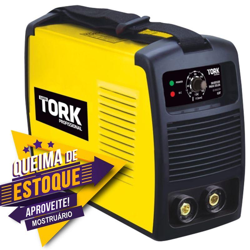 Máquina Inversor de Solda 150 AH (Eletrodo) IE-6150 Tork