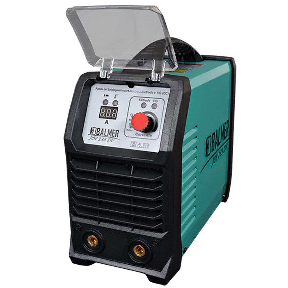 Maquina Inversora de Solda TIG Joy 133 DV 120A 110/220 V Monofásico BALMER 30179536