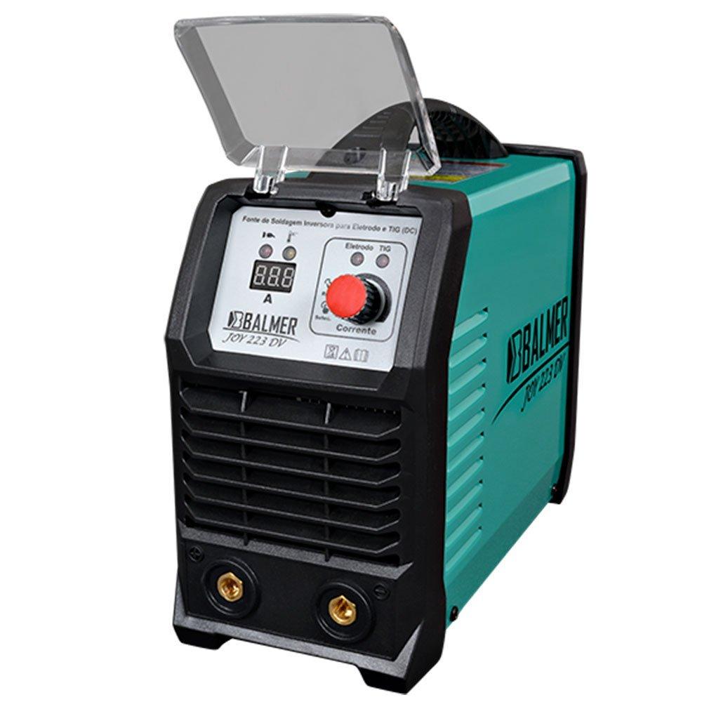 Máquina Inversora de Solda TIG Joy 223 DV 200A 110/220 V BALMER 30179537
