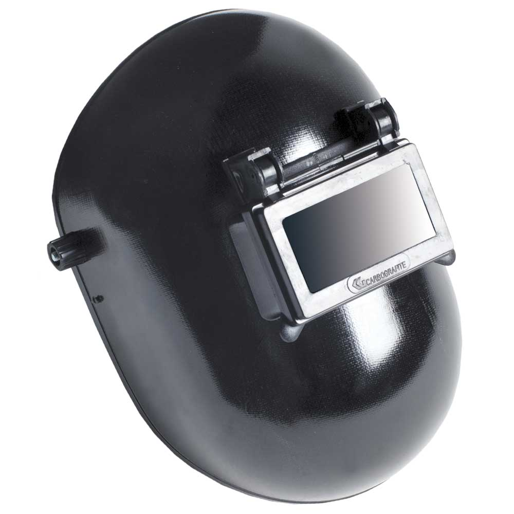 Mascara Escudo De Solda Carbografite Celeron C/ Visor Articulado S/ Catraca