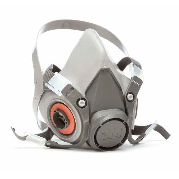 Máscara Facial 3m + Par Filtros 6003 P/ Vapores E Gases 3m
