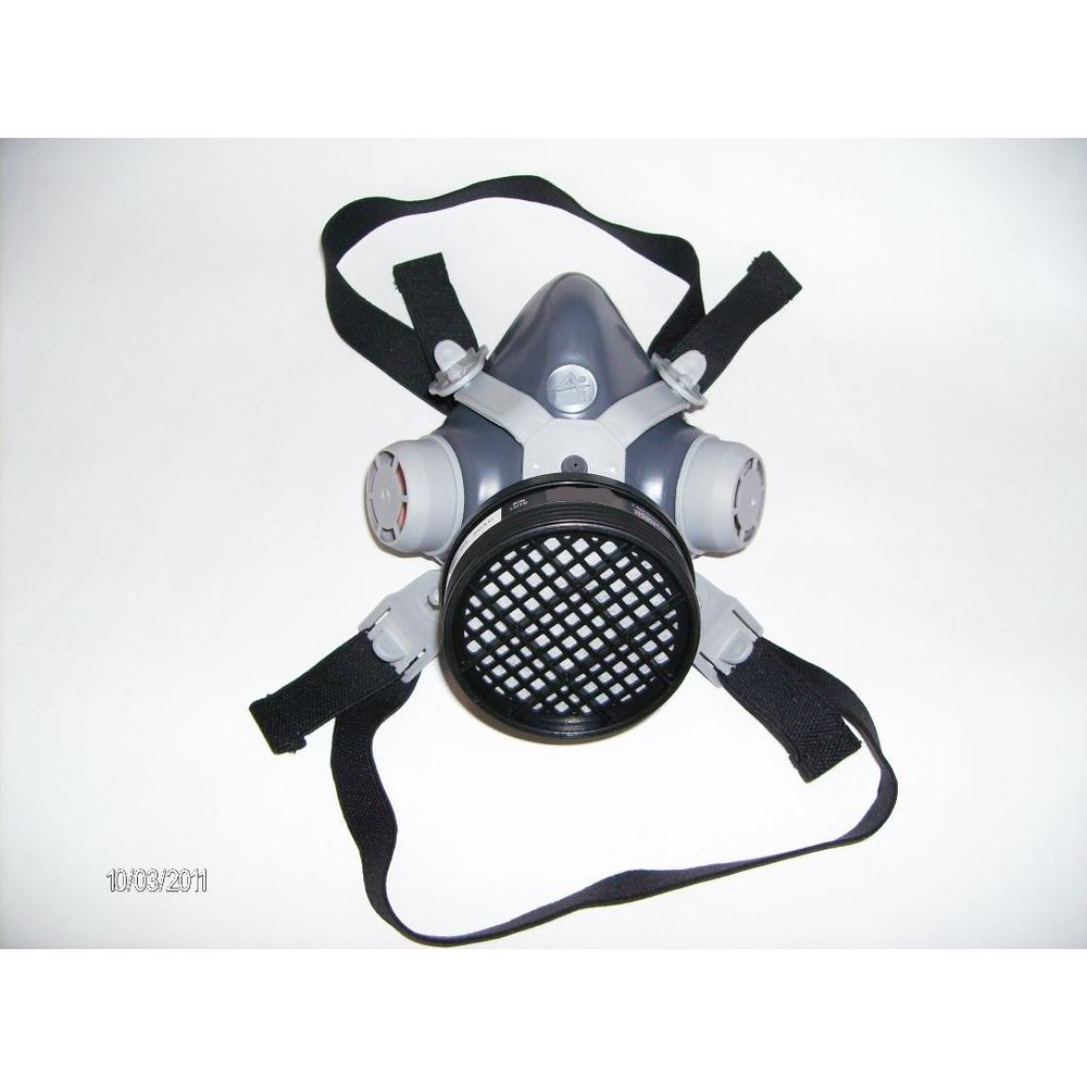 Máscara Respirador 1/4 Facial MIG11 c/ Filtro VO - Destra Brasil