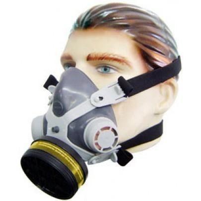 Mascara Respirador Facial Destra C/ Filtro VO/GA