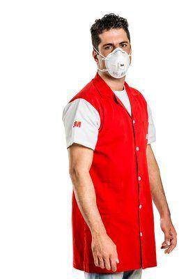 Máscara Respiradora Descartável Concha 3M 8822/60 C/ Valvula - Ca5657