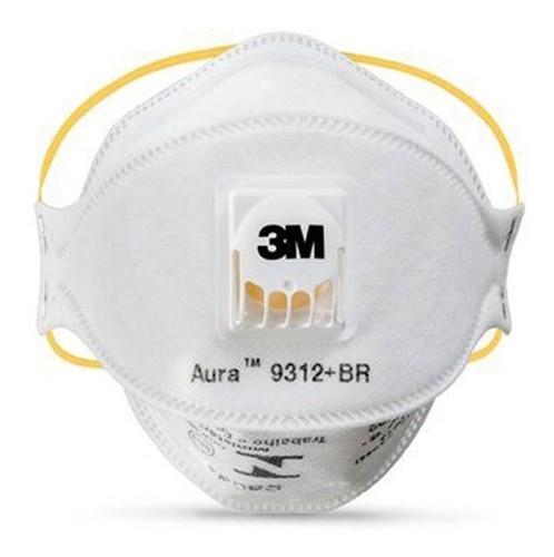 Máscara Respiratória Aura 3m 9312 C/ Válvula - 5un