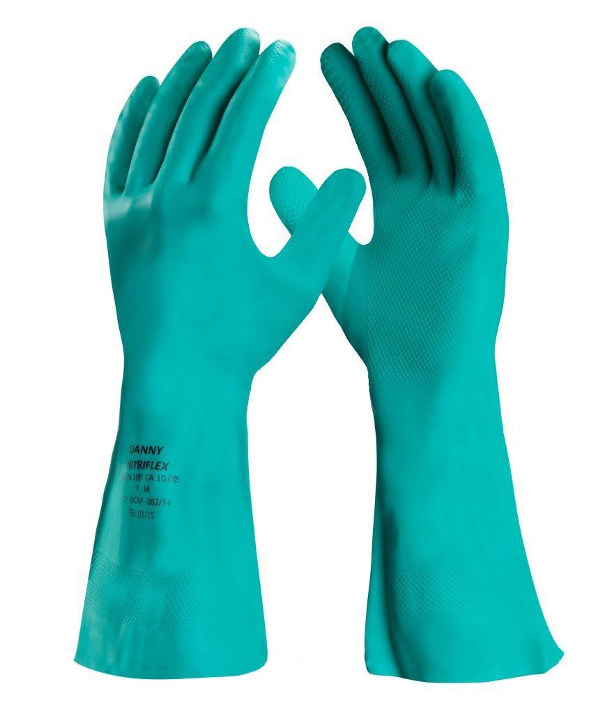 Luva De Proteção Nitrílica Danny Nitriflex Sem Forro - Par