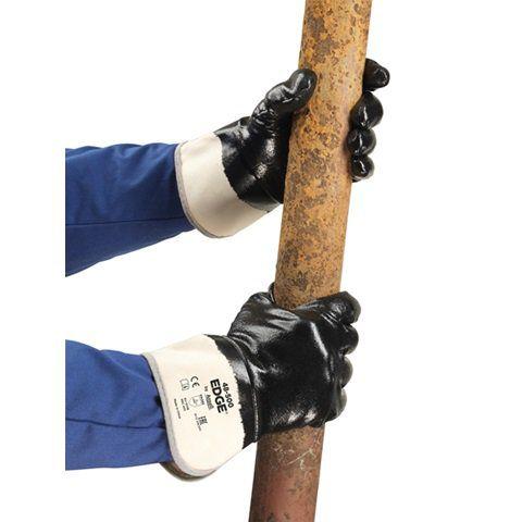 Luva De Proteção Nitrílica Mecânica Ansell EDGE 48-500 - Par