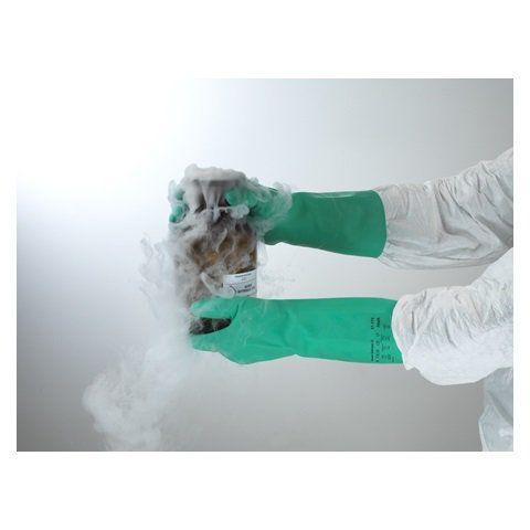 Luva De Proteção Quimica Nitrílica Ansell Sol-vex 37-175 - Par