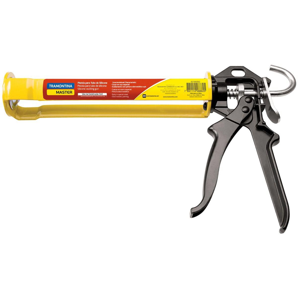 Pistola P/ Tubo De Silicone - Tramontina 43199002