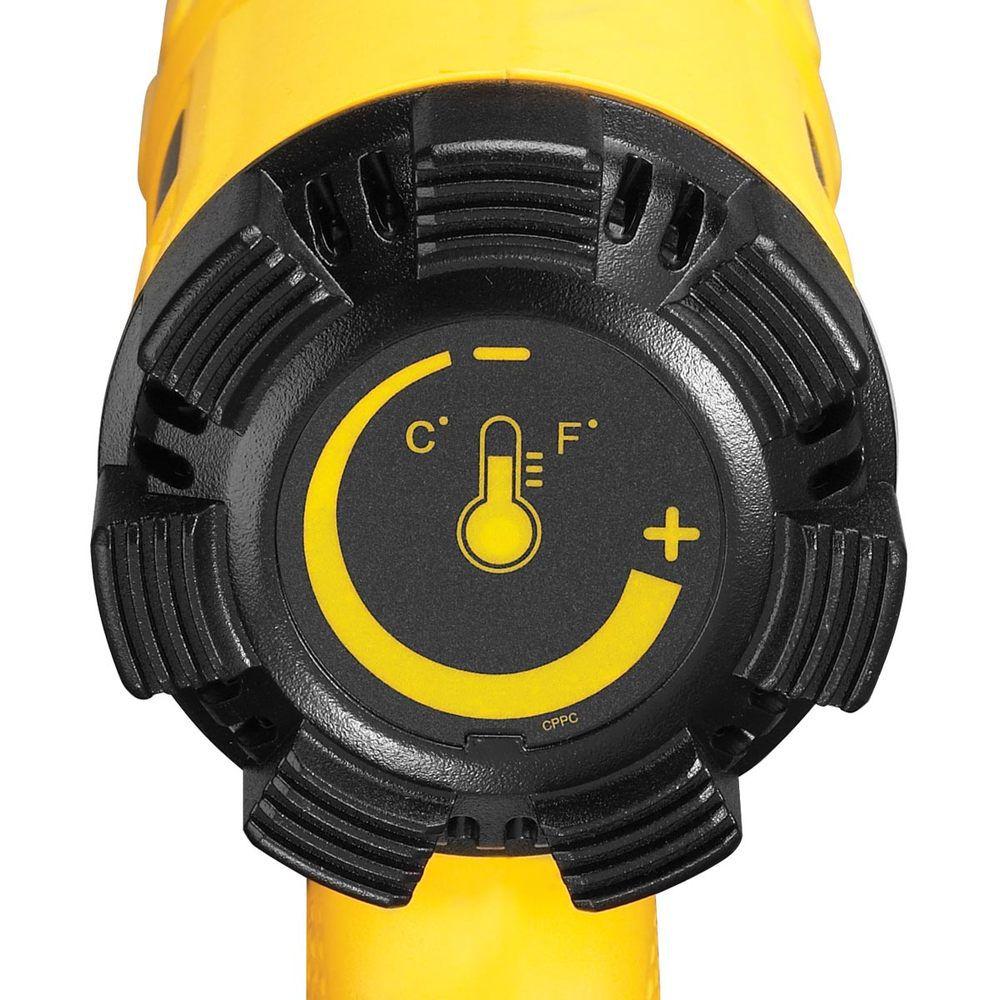 Soprador Térmico 50 a 400 graus 1550 watts Desligamento Auto Dewalt D26411-BR - 110v