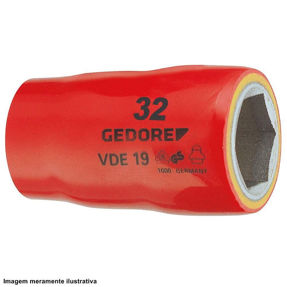 Soquete Sextavado VDE 19 - 32mm - Gedore