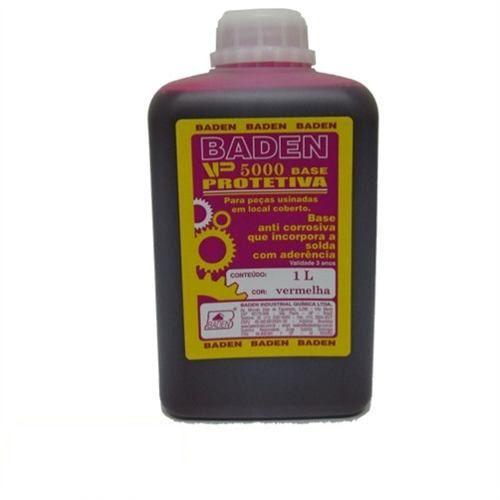 Tinta Verniz Antioxidante Vermelha 1 Litro - Baden