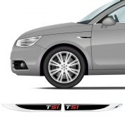 2 Protetores Paralama Golf Tsi Volkswagen Black Resinado