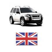 Adesivo Bandeira Resinada Land Rover Reino Unido Inglaterra