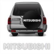 Adesivo Mitsubishi Resinado Pajero TR4 Prata Refletivo