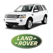 Adesivo Resinado Emblema Automotivo Land Rover