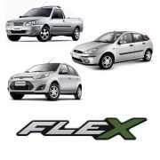 Adesivo Resinado Flex Ford Fiesta Courier Focus Ecosport Ka
