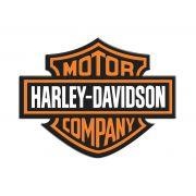 Adesivo Resinado Logo Harley Davidson Moto Carro Notebook