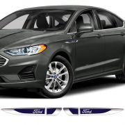 Aplique Lateral Ford Ka Fiesta Edge Focus Emblema Cromado