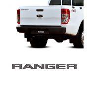 Emblema Ranger 2013/2016 Tampa Traseira Adesivo Grafite