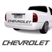 Faixa Chevrolet Corsa Picape Pick-Up Tampa Traseira Preto