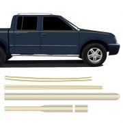 Faixa S10 Executive 1999/2000 CD Adesivo Lateral Dourado