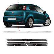 Friso Porta-Malas Fiat Punto 08/17 + Kit Soleira Protetora