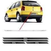 Friso Porta-Malas Volkswagen Gol G4 + Kit Soleira Protetora
