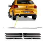 Friso Porta-Malas Volkswagen Gol G7 + Kit Soleira Protetora
