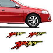 Kit Adesivo Resinado Astra Sport Lateral Traseiro Chevrolet