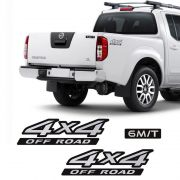 Kit Adesivos Nissan Frontier 4x4 Off Road 6m/t Mod. Original