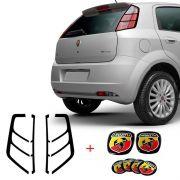 Kit Emblema Punto Abarth Compl. + Adesivo Lanterna Traseira