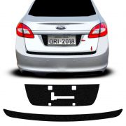 Kit Protetor Porta-Malas New Fiesta 11/14  + Fundo De Placa