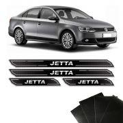 Kit Soleira Diamante Jetta 2013/2018 Com Protetor De Porta
