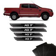 Kit Soleira Diamante Ranger Xlt 13/19 Com Protetor de Porta