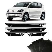 Kit Soleira Up! Volkswagen 14/19 E Adesivo Protetor de Porta