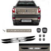 Kit Strada Trekking Branco + Emblemas + Soleira da Porta