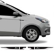 Par De Aplique Lateral Ford Ka 2015/2019 Emblema Resinado
