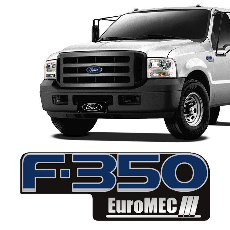 Adesivo Ford F350 Euromec III Emblema Modelo Original