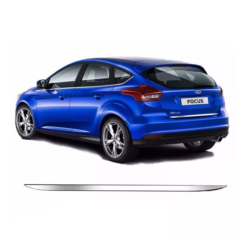 Friso Porta Malas Cromado Resinado Focus Hatch 15/18