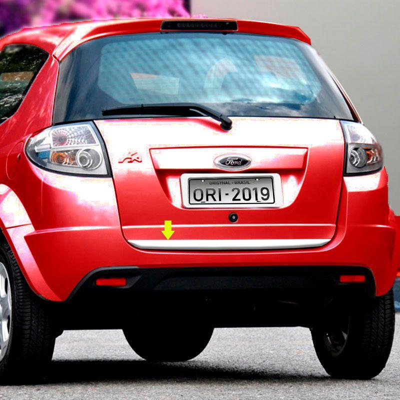 Friso Porta-Malas Ford Ka 2010/2014 + Kit Soleira Protetora
