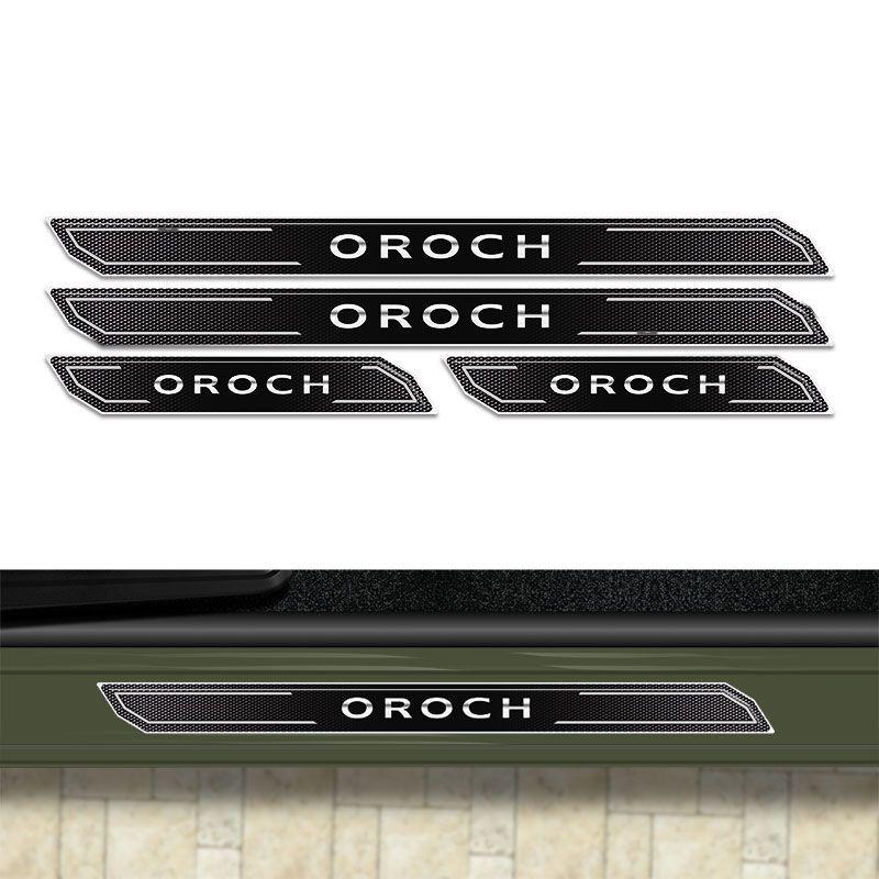 Kit de Soleira Da Porta Diamante Duster Oroch Resinada