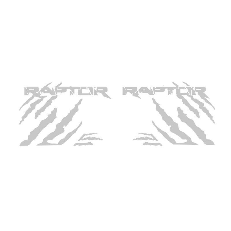 Kit Faixa Ranger Raptor Adesivo Prata + Soleira Com Protetor